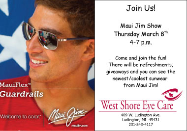West Shore Eye Care presents Maui Jim Sunglass Show