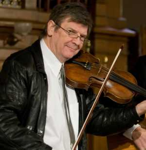 Irish fiddler at West Shore Saturday