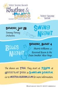 West Shore Bank presents free concert series, beginning Saturday
