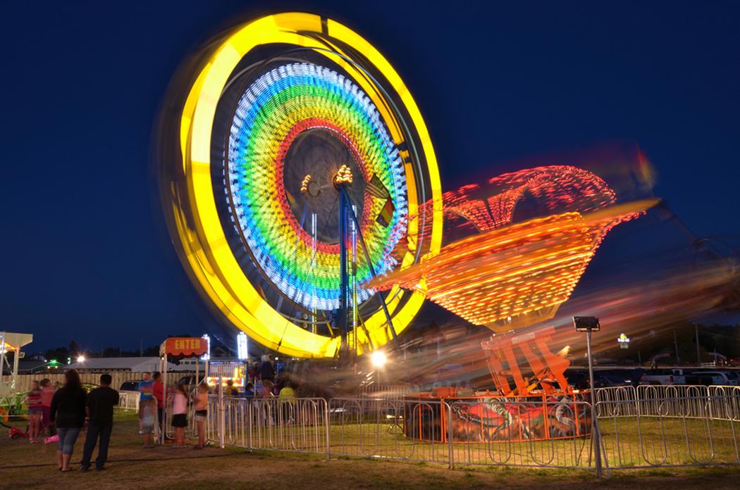 Lighting up the fair