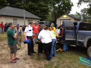 1 injured at Scottville and Chauvez roads