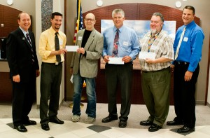 West Shore Bank donates to music programs