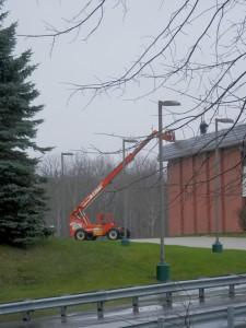 WSCC Rec Center sustains damage