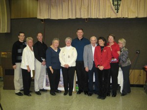 Scottville Optimists install new officers