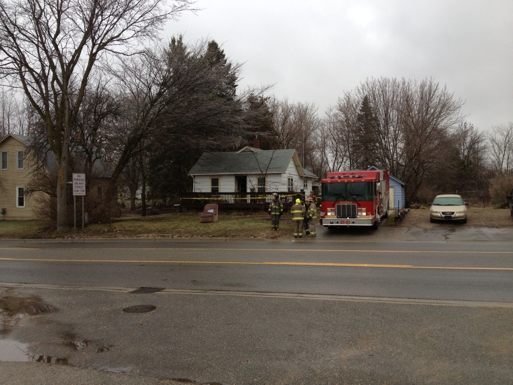 Fire displaces couple from home