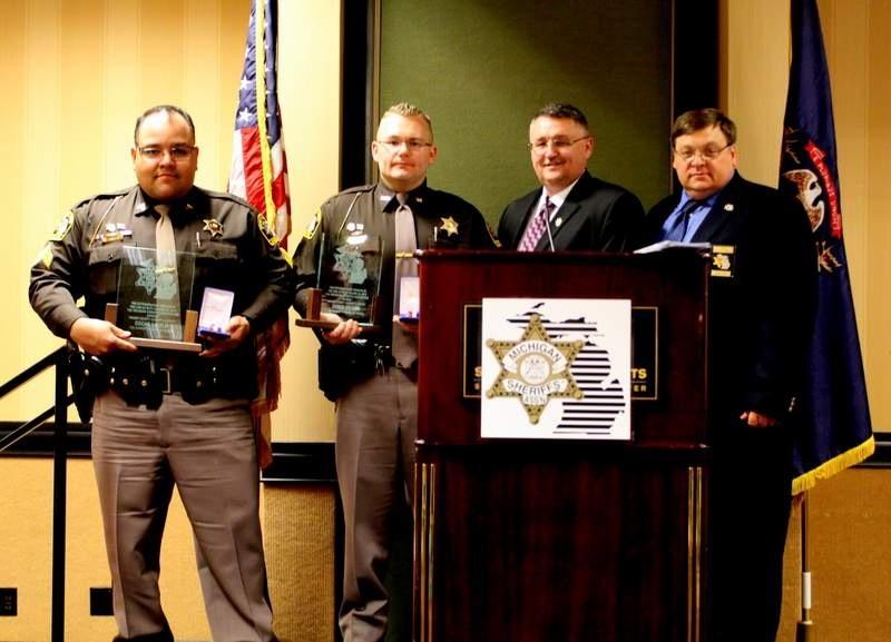 Deputies receive medal of honor