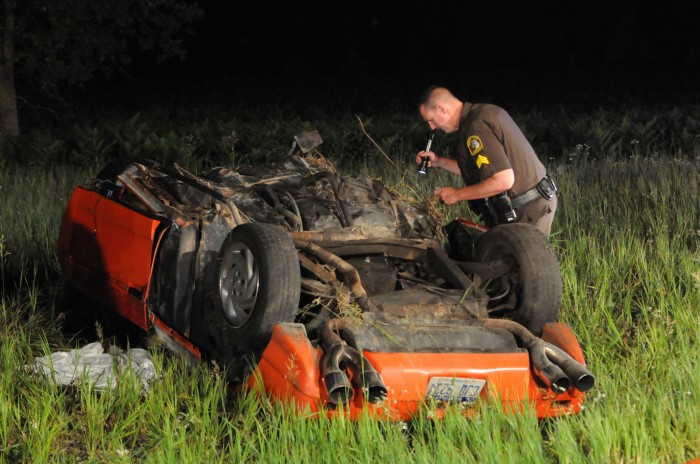 Ludington man dead following crash