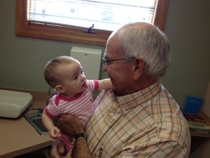 41 years, 3 generations, 100s of children; Dr. Hill retires
