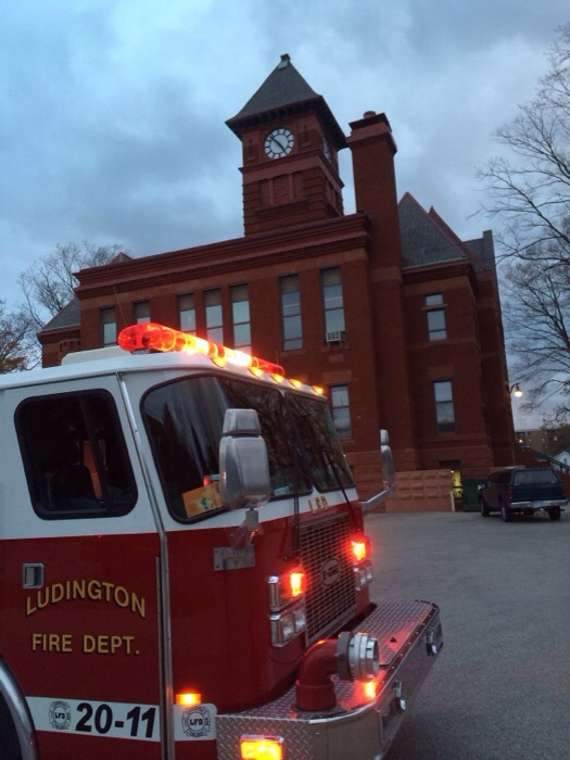 Wiring causes small fire at courthouse
