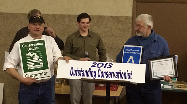 Stakenas Farms receives Conservationist of the Year award